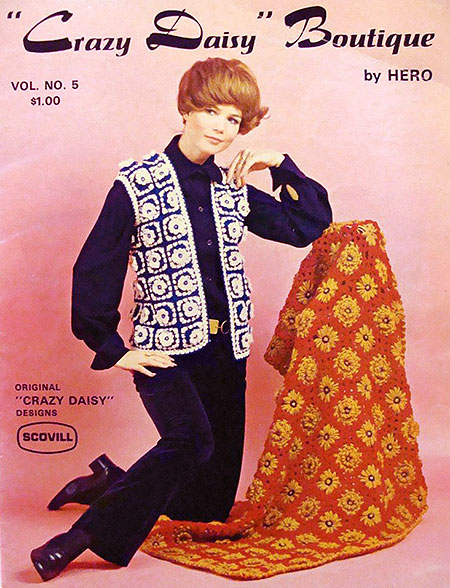 The Crazy Daisy Boutique pattern book by Hero