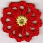 Shell Stitch Flowers