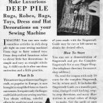 Singercraft Guide Advertisement from Needlecraft Magazine, October 1932