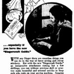 """No Limit to what a Singer can do"", Australian Newspaper Advertisement, 1934"