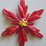 Flower Loom Poinsettia