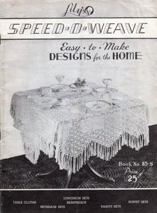 Lily Speed-O-Weave booklet 85s