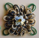 Loomed Flowers with Loopy Leaves