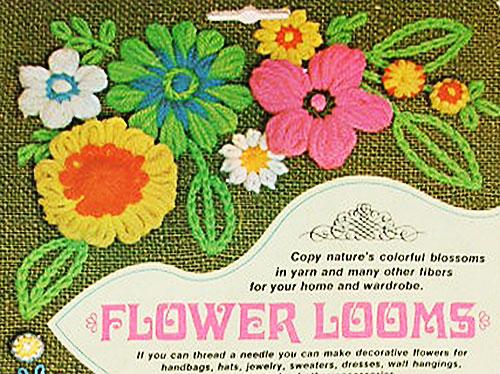 Loomed flowers
