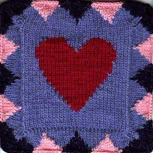 All My Love Afghan Square
