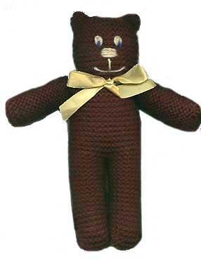 Any yarn teddy bear