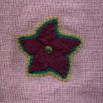 Knitted Appliqué Stars