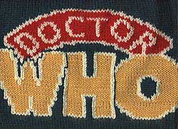 Knit Doctor Who Logo