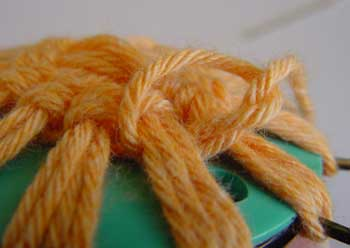 Tying a kot to finish off
