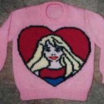 Barbie Knitting Chart