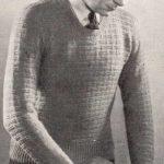 Basket Stitch Pullover