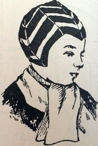 Zēna Cepure (Boy's Hat) from Adījumu Raksti un Adīšanas Technika