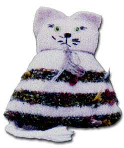 Any-yarn Toy Cat