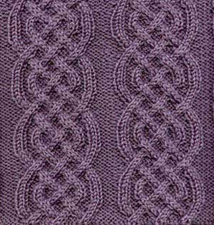 Celtic Braid Afghan Square