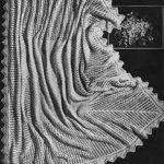 Cirrus Lace Knit Baby Shawl