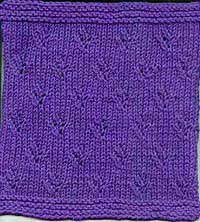 Lace blanket square