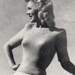 Coast Line, Vintage Lady's Pullover
