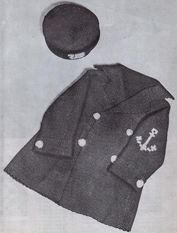 Weave-It sailor coat and cap