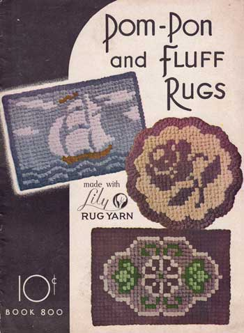 Pom-Pon and Fluff Rugs. Book 800 cover