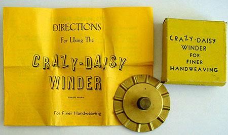 Crazy daisy winder