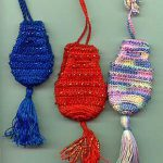 Ann's Beaded Crochet Amulet Bags