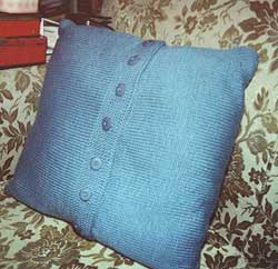 Cushion cover: back