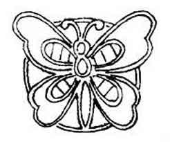 Small cutwork butterfly embroidery design