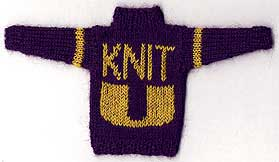 Knit by David Xenakis of Knitter's Magazine
