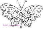 Dotted Butterflies c1945