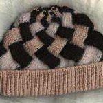 Lady's Entrelac Hat