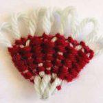 Fan Shapes on the Hana Ami Flower Loom