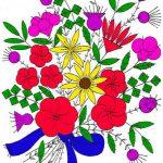Felt Appliqué Bouquet