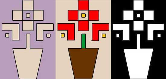 Flower pot design for the Singercraft guide