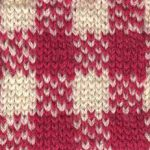 Gingham Check Knitting Chart