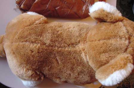 Soft toy corgi