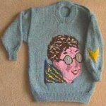 Wizard Portrait Sweater Knitting Charts