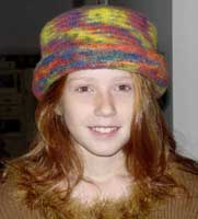 Knit and felted pork pie hat Boiled wool felt pork pie hat 0dbd6a92e5a