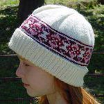 Lady's and Girl's Fairisle Hat