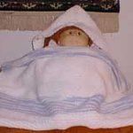 Baby's Hooded Towel