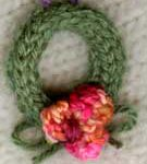 I-cord Wreath