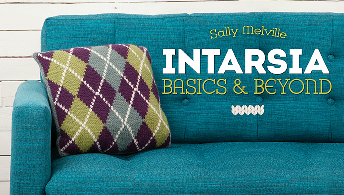 Intarsia Craftsy class with Sally Melville