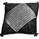 Knitted Cushion from 1937