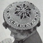 Larch Beret in Traditional Fair-Isle