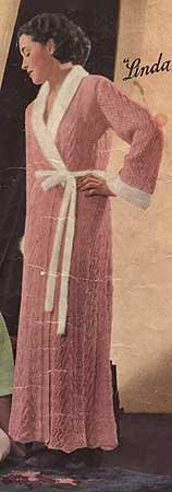 Vintage Lace Dressing Gown
