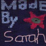 Oddball Sampler Afghan Square #42: Made By…