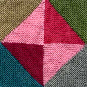 Magic Diamond Afghan Square