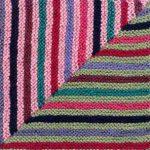 Oddball Sampler Afghan Square #4: Magic Stripes