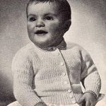 Mary Ann Baby Cardigan