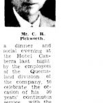 Mrs Pickworth's Presentation, The Courier-Mail, Brisbane Saturday 14 April 1934