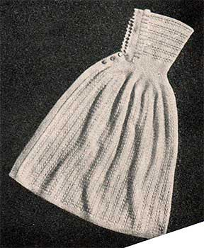 lace patterned baby cloak with hood